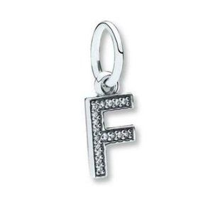 Pandora Letter F Dangle Charm